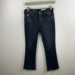 Ag Adriano Goldschmied Jeans - AG The Jodi High Waist Slim Flare Crop Jeans